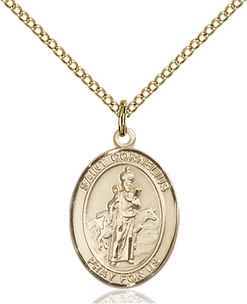 Gold-Filled Saint Cornelius Necklace Set