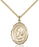 Gold-Filled Pope Saint Eugene I Necklace Set