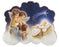 4-inch Angel With Baby Jesus Standing Book Plaque