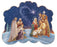 4-inch Nativity Bi-Easel Standing Book Plaque