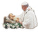 Pope Francis With Baby Jesus Plaque
