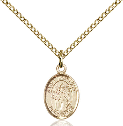 Gold-Filled Saint Boniface Necklace Set