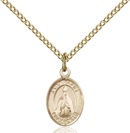 Gold-Filled Saint Blaise Necklace Set