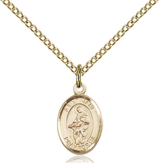 Gold-Filled Saint Jane of Valois Necklace Set