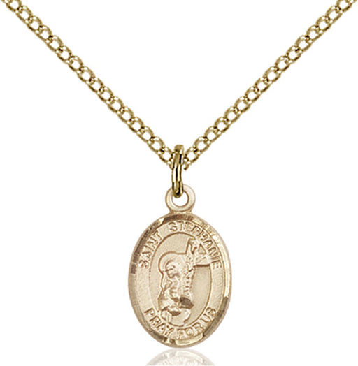 Gold-Filled Saint Stephanie Necklace Set