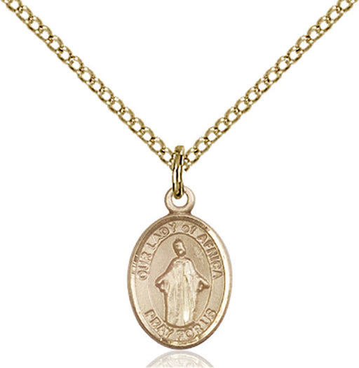Gold-Filled Our Lady of Africa Necklace Set
