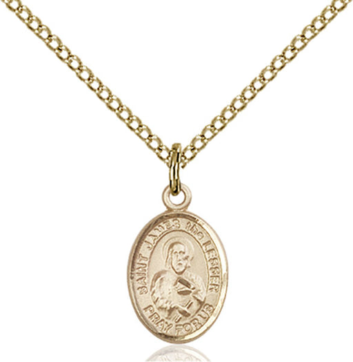 Gold-Filled Saint James the Lesser Necklace Set