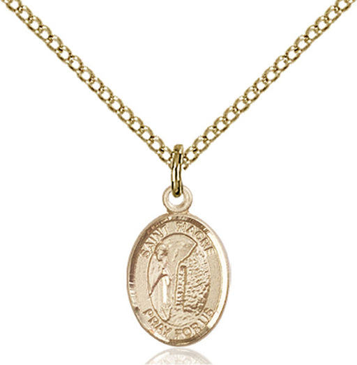 Gold-Filled Saint Fiacre Necklace Set