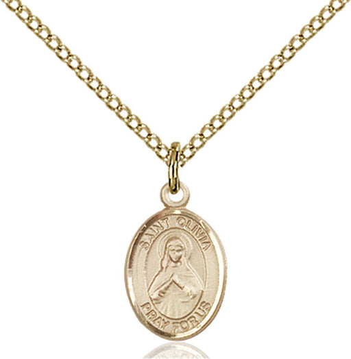 Gold-Filled Saint Olivia Necklace Set