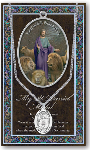 St Daniel Picture Folder With Medal And Chain