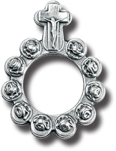 Silver Rosary Ring 25-Pack