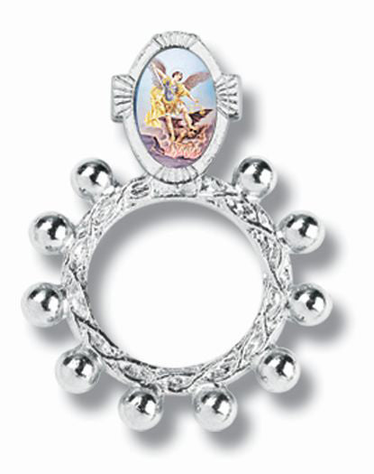 Saint Michael Rosary Ring 10-Pack