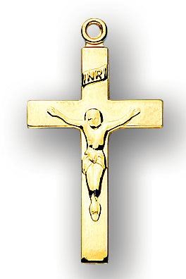 Solid 14kt. Gold Crucifix