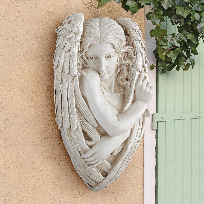 Tristan The Timid Angel Plaque