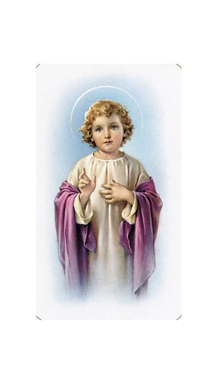 100-Pack - Child Jesus Holy Card