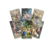 Angels Series Assorted Christmas Holy Card - 100-Pack