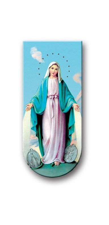 O.L. Miraculous Medal Magnetic Bookmark 10-Pack