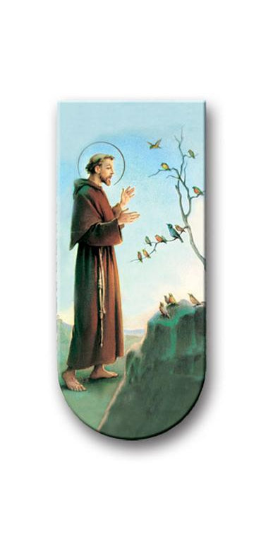 Prayer To Saint Francis Assisi Magnetic Bookmark 10-Pack