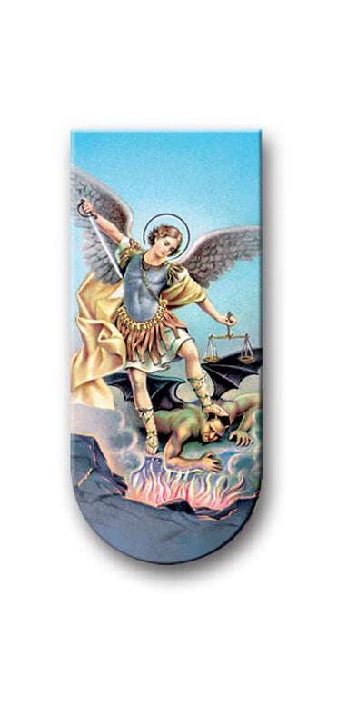 Prayer To Saint Michael The Archangel Mag Bookmark 10-Pack