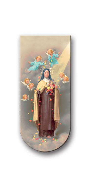 Prayer To Saint Theresa Magnetic Bookmark 10-Pack