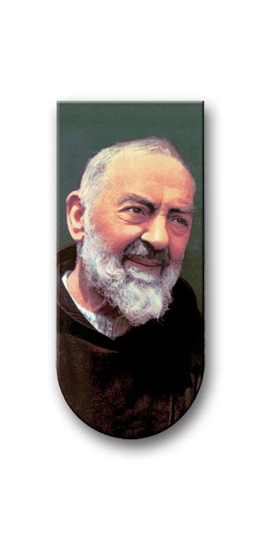 Prayer To Saint Pio Magnetic Bookmark 10-Pack