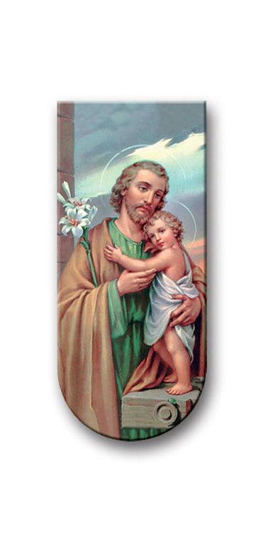 Prayer To Saint Joseph Magnetic Bookmark 10-Pack