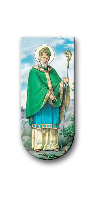 Hail Glorious Saint Patrick Magnetic Bookmark 10-Pack