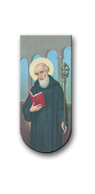 Prayer To Saint Benedict Magnetic Bookmark 10-Pack
