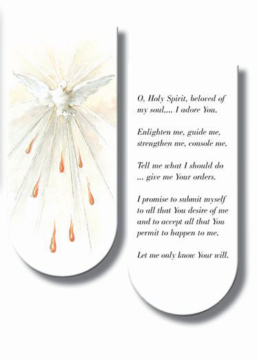 Holy Spirit Magnetic Bookmark Bookmarks 10-Pack
