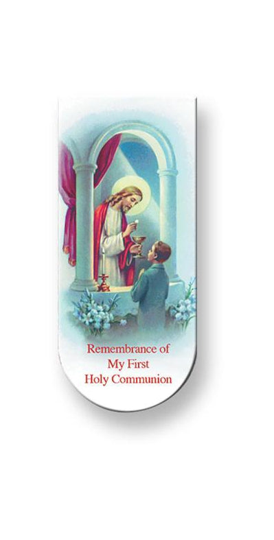 Communion Prayer-Boy Magnetic Bo0Kmark 10-Pack