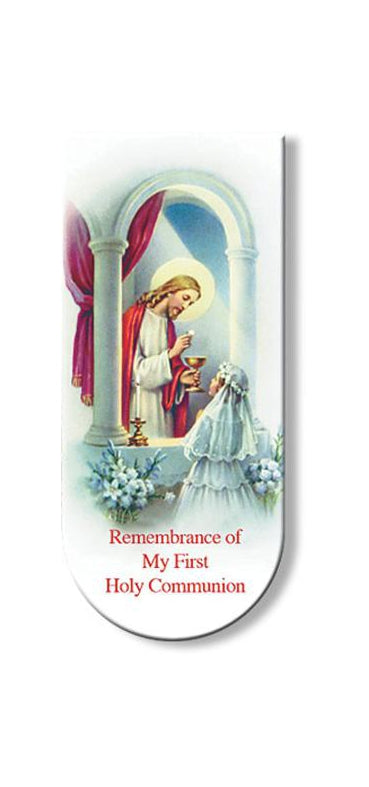 Communion Girl Magnetic Bookmark 10-Pack