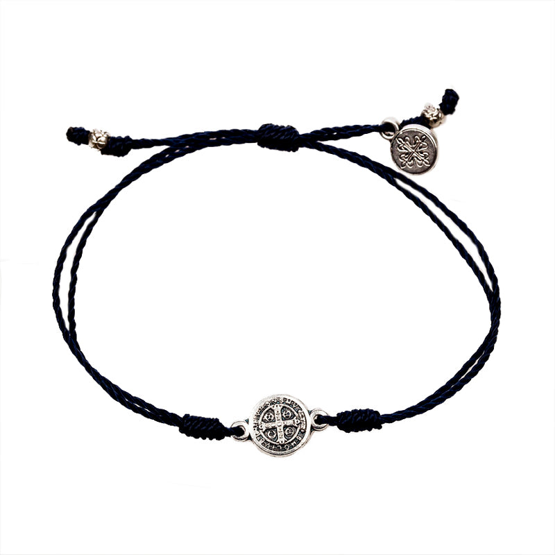 Blessing Bracelets Breathe Black - Silver Metal