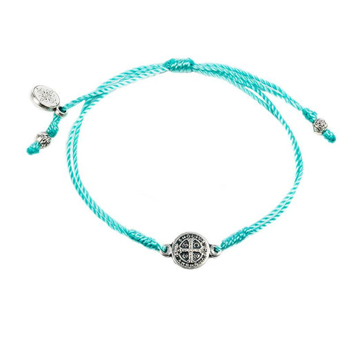 Blessing Bracelets Breathe Mint - Silver Metal