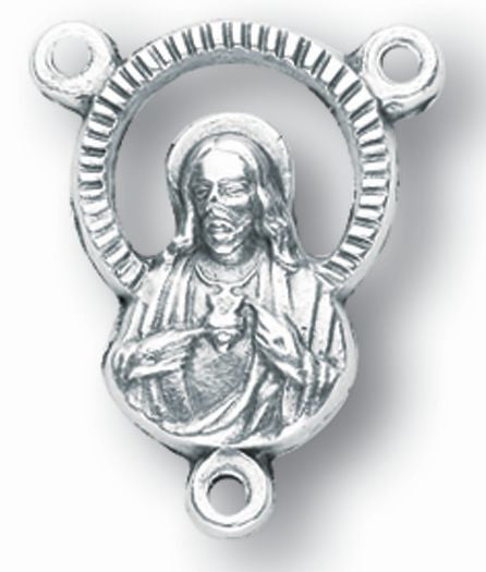 10-Pack - Sacred Heart Oxidized Center- Piece