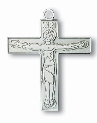 2-inch Cursillo Cross with Christ Is Counting On You