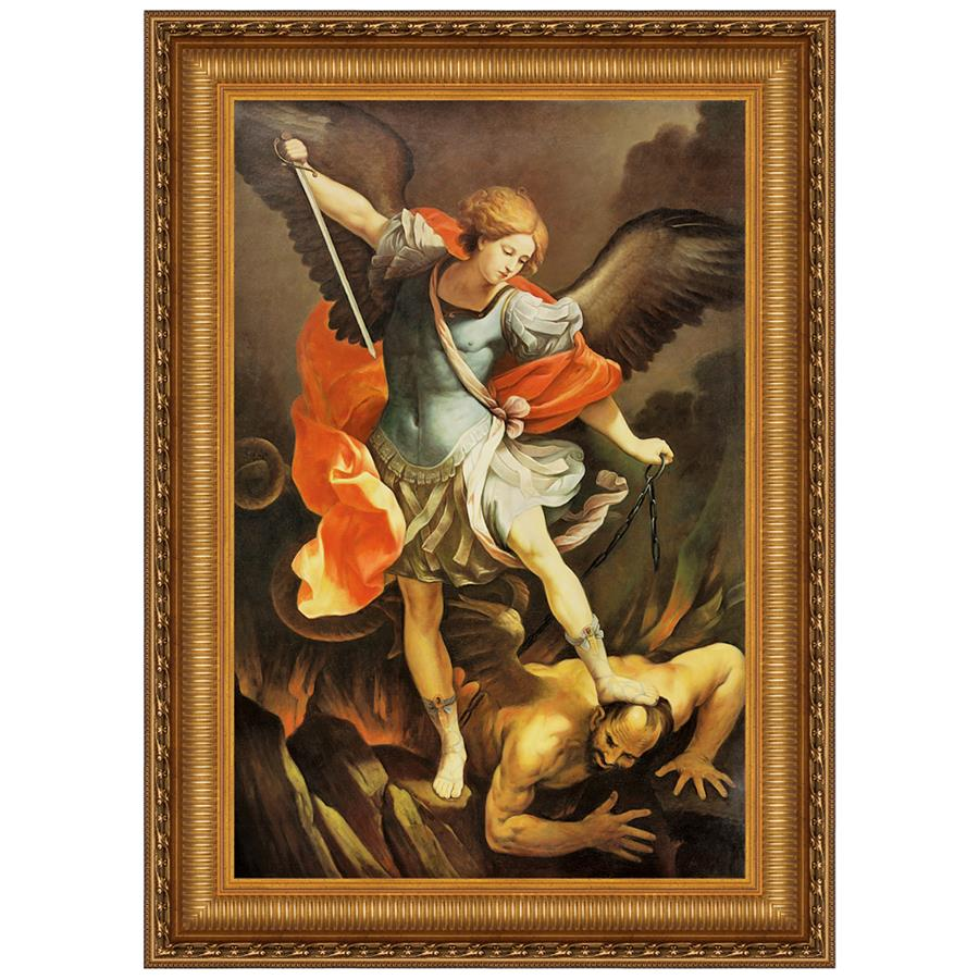 22X29 Archangel Saint Michael