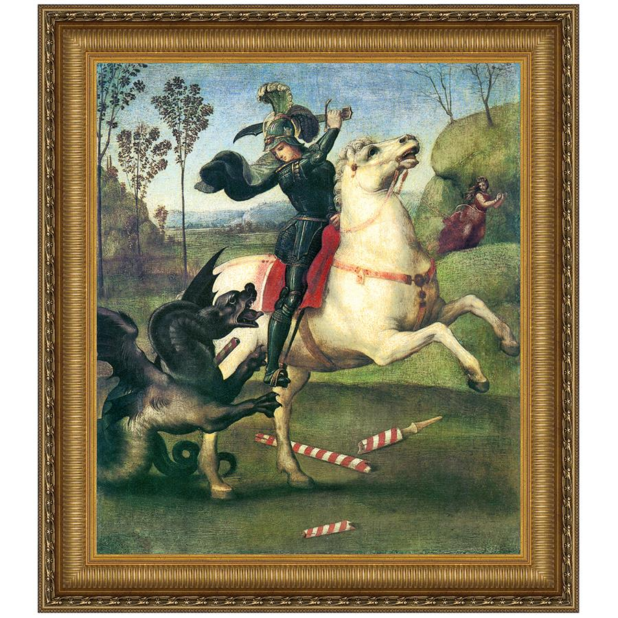 36.5X41 Saint George And The Dragon 1505