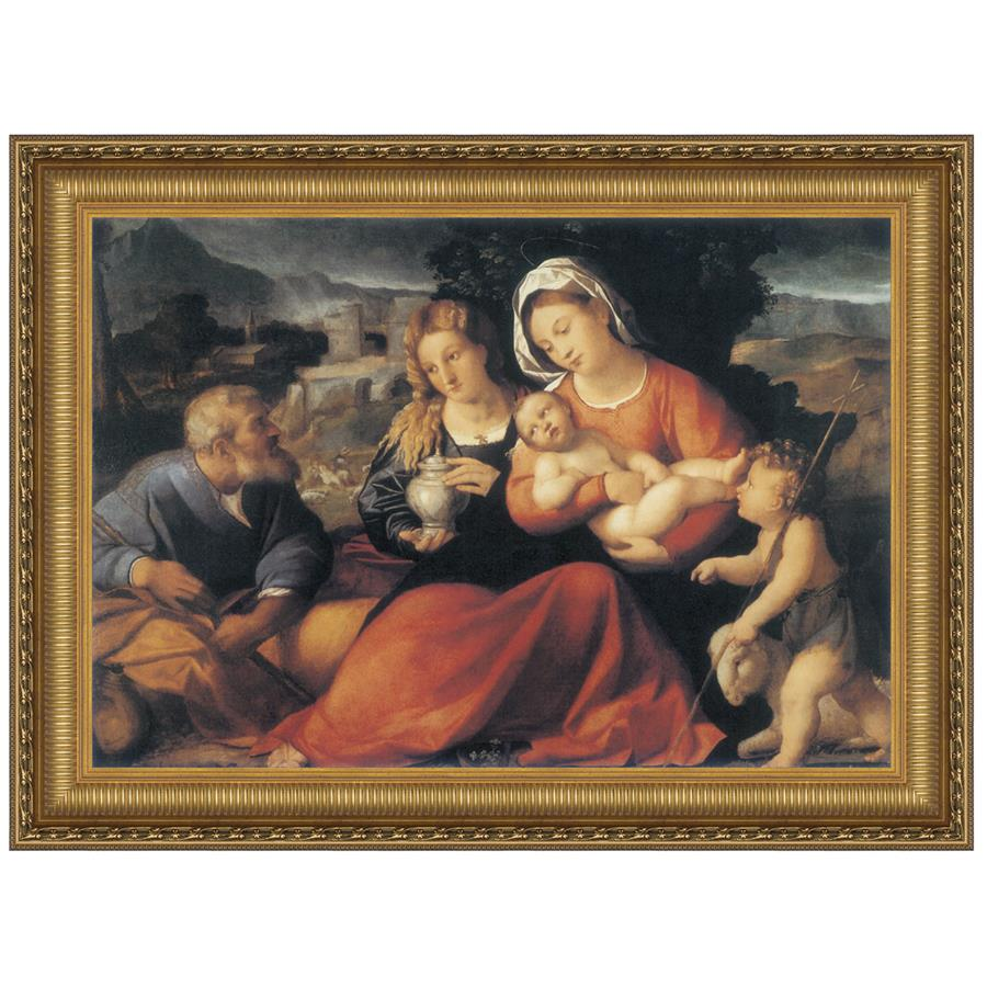 37X28 Holy Family With Mary Magdalen