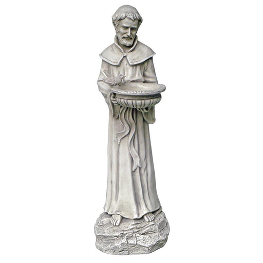 St Francis Natures Patron With Bowl