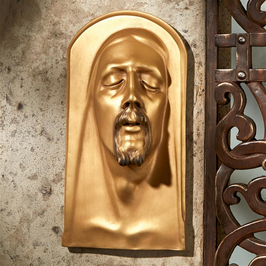 Christ Of Mantova Plaque Gold Finish