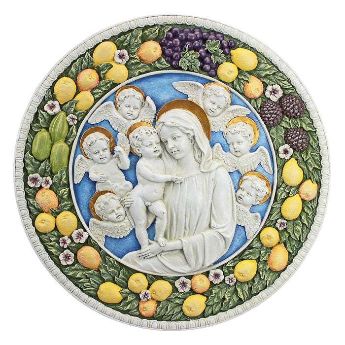 Virgin Mary And Child Roundel