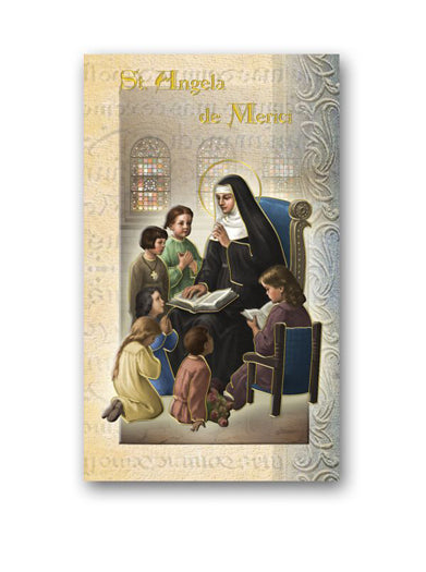 10-Pack - Saint Angela Merici Biography