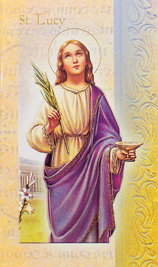 10-Pack - Biography Of Saint Lucy