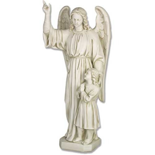 Guardian Angel and Child 26-inch - Large Statue