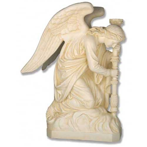 Bergama Angel-Left 35-inch - Large Statue