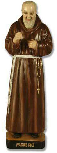 Padre Pio 22-inch - Large Statue