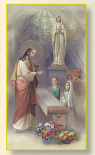100-Pack - First Communion Boy and Girl Card