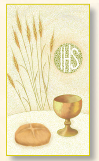100-Pack - Chalice First Communion Card