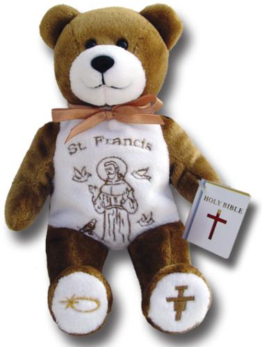 Saint Francis Holy Bear