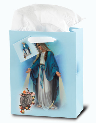 Our Lady Of Grace Med Gift Bag with Tissue 73/4X93/4X4 10-Pack